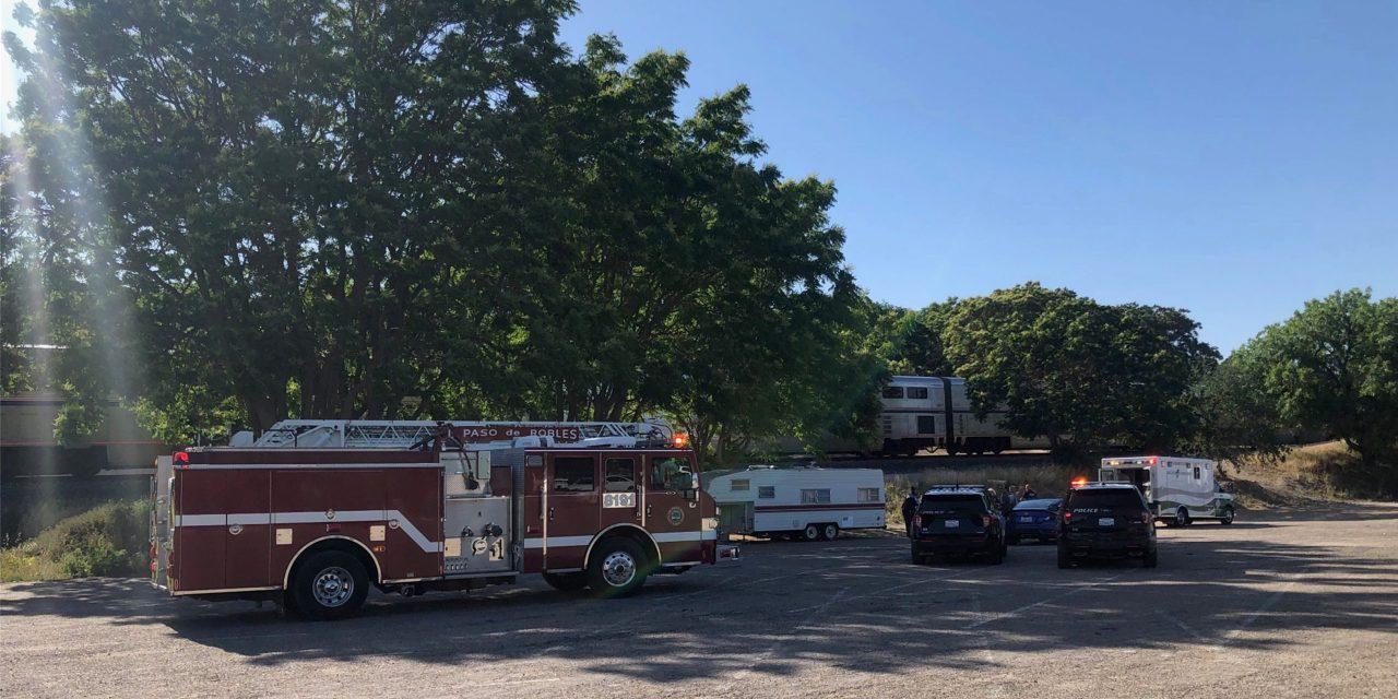 Person Struck By Amtrak Train Near Paso Robles Event Center