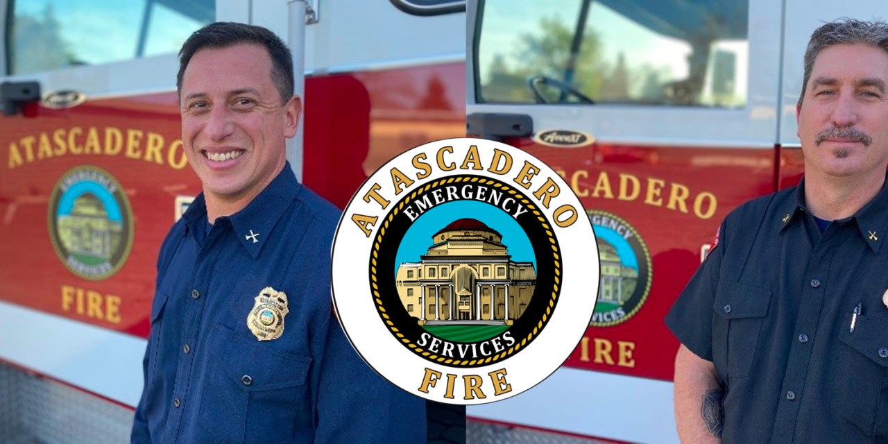 Atascadero Fire and Emergency Announce Appointment of Two Battalion Chief Officers