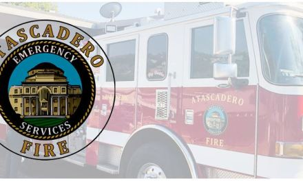 Structure Fire on El Camino Real in Atascadero