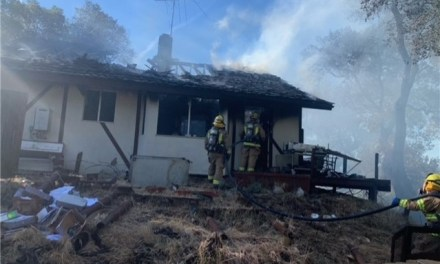 Atascadero Structure Fire on Valle Avenue