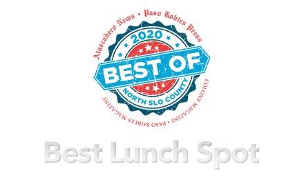 Best of 2020 Winner: Best Lunch Spot