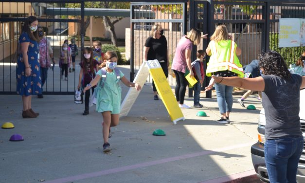 AUSD Students Return To In-Person Learning