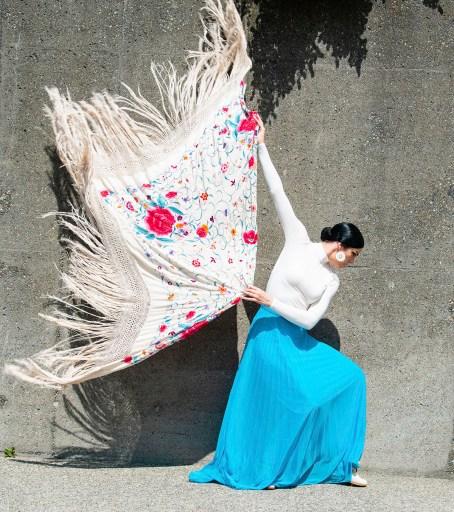 savannah fuentes flamenco dancer