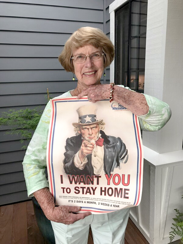 Donna Poster Stay Home