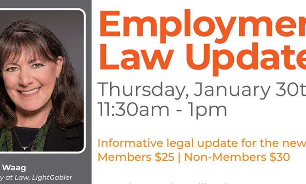 Chamber of Commerce to Present 2020 Employment Law Update