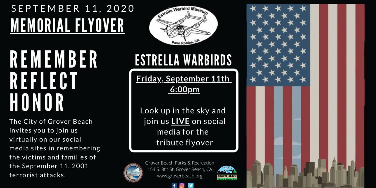 UPDATE: September 11 Memorial Flyover