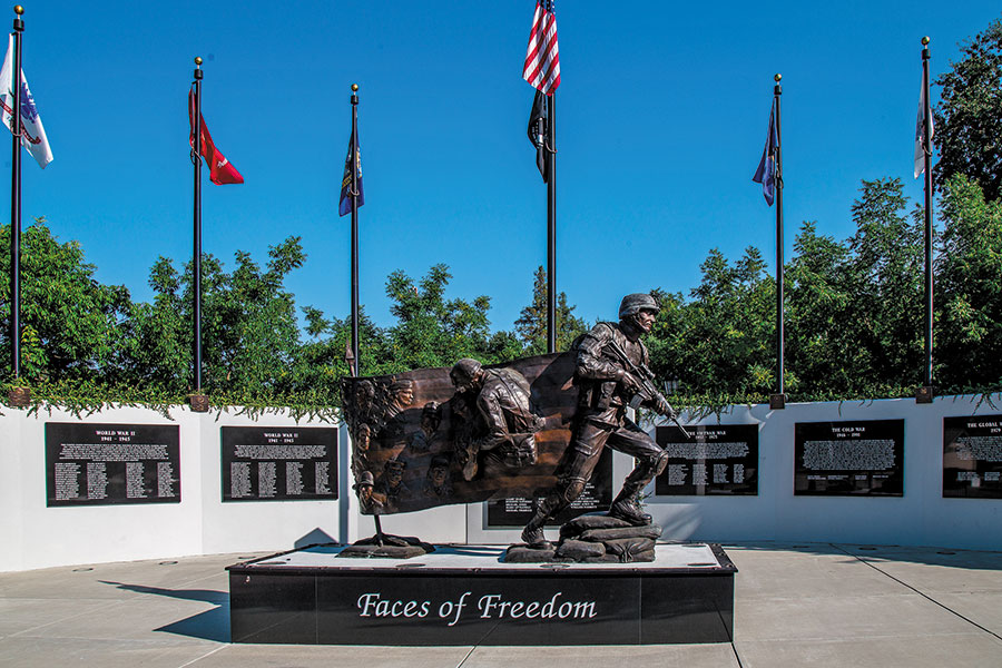 Atascadero Faces of Freedom Veterans Memorial Needs Your Help