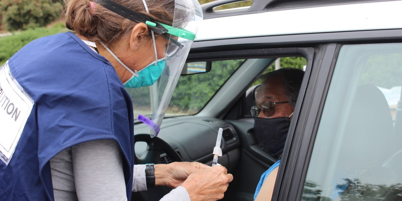 Over 1,200 People Got Flu Shot at Drive-Through Clinics on Oct. 21