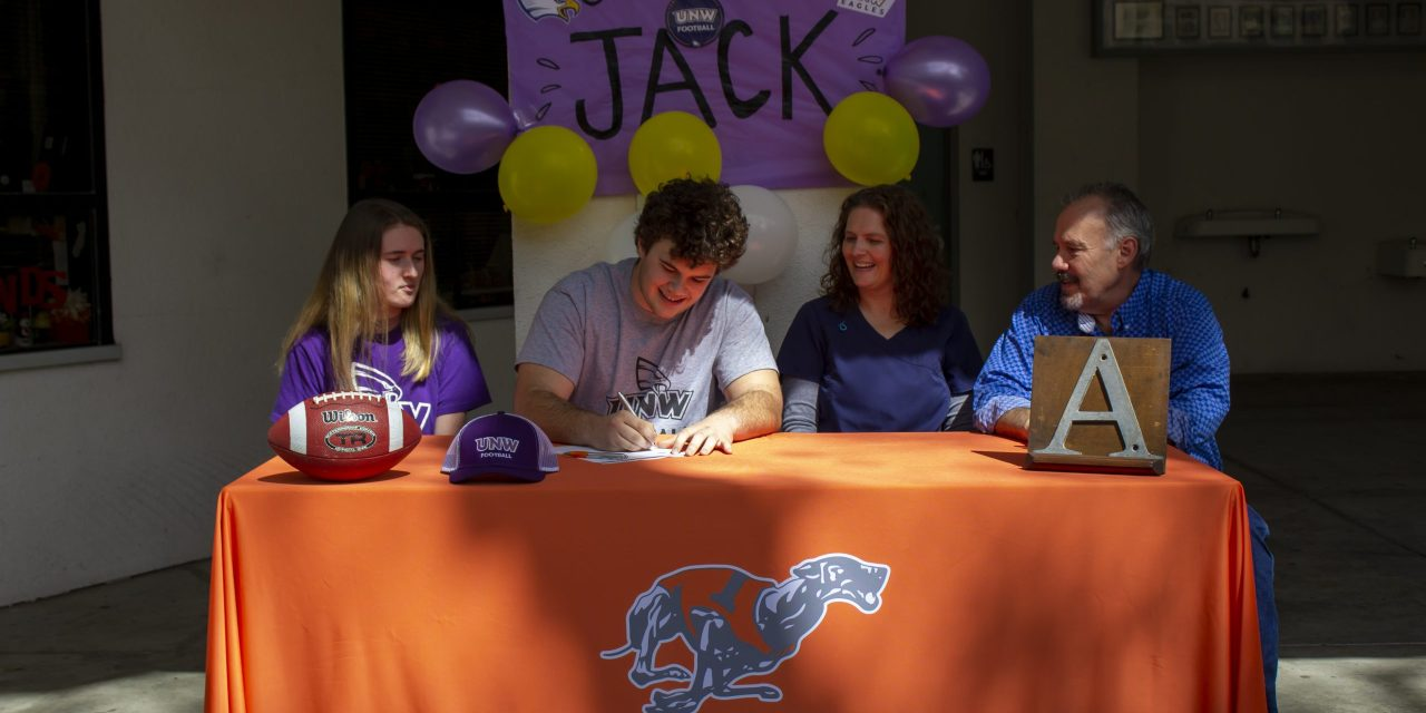 Jack Megason Signs Letter Of Intent To Play Football At University Of Northwestern, St Paul