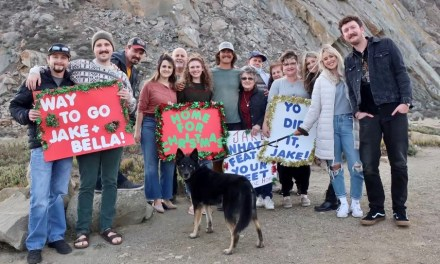 Air Force Veteran Jake Eyre's Walk Across America Ends in Morro Bay