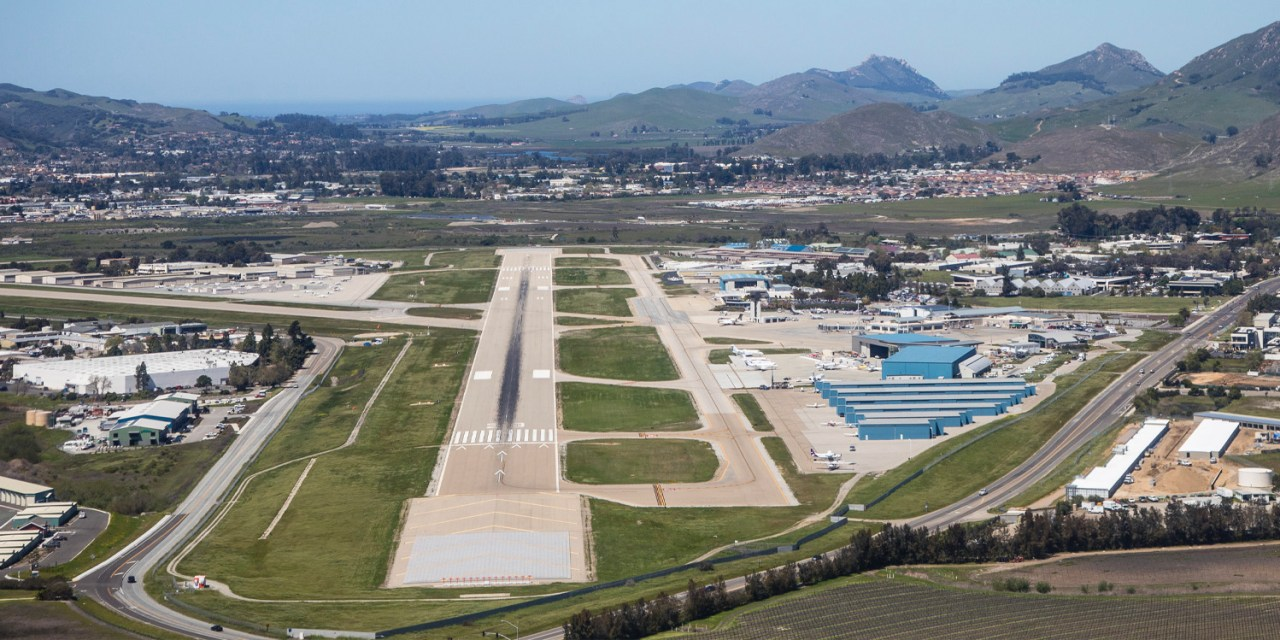 San Luis Obispo County Regional Airport Begins Runway Rehabilitation Project