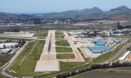 San Luis Obispo County Regional Airport Begins Runway Rehabilitation Project