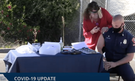 SLO County PUblic Health Administers First COVID-19 Vaccine Shots
