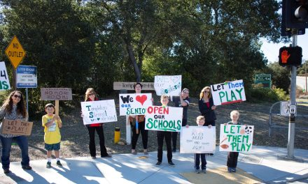 THS Parents and Students Rally Together in Support of Re-Opening Schools