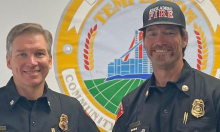 Templeton's New Fire Chief Putting Pieces into Place