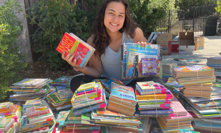 Bearcat Book Drive Collects Over 5,000 Books