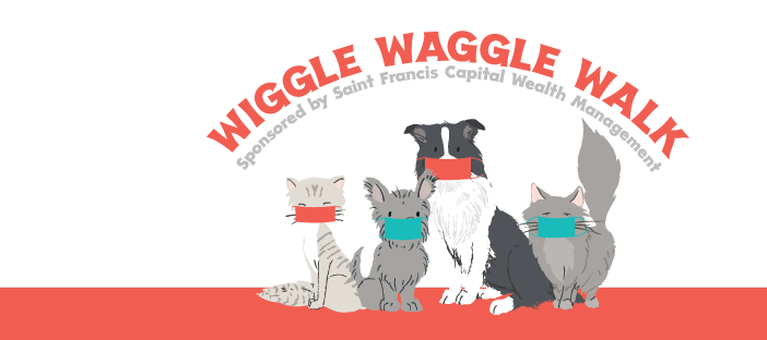 Woods Humane Society's 28th Annual Virtual Wiggle Waggle Walk & Run