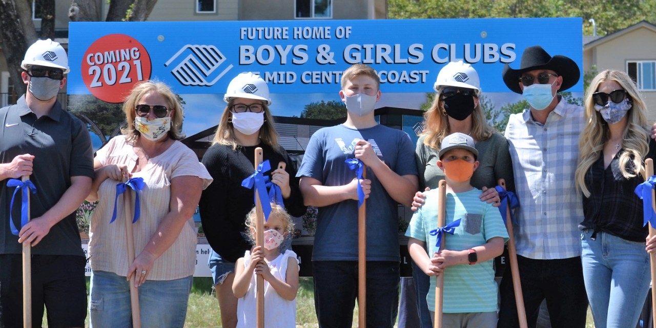 Boys & Girls Clubs of Mid Central Coast Receives Matching Gift for New Clubhouse