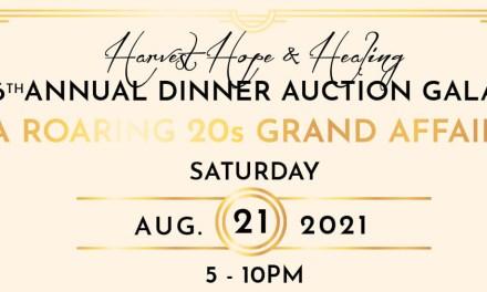 Harvest Hope & Healing Annual Dinner Auction Gala