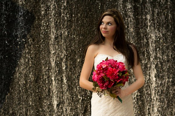 Downtown Houston Bridal Portraits