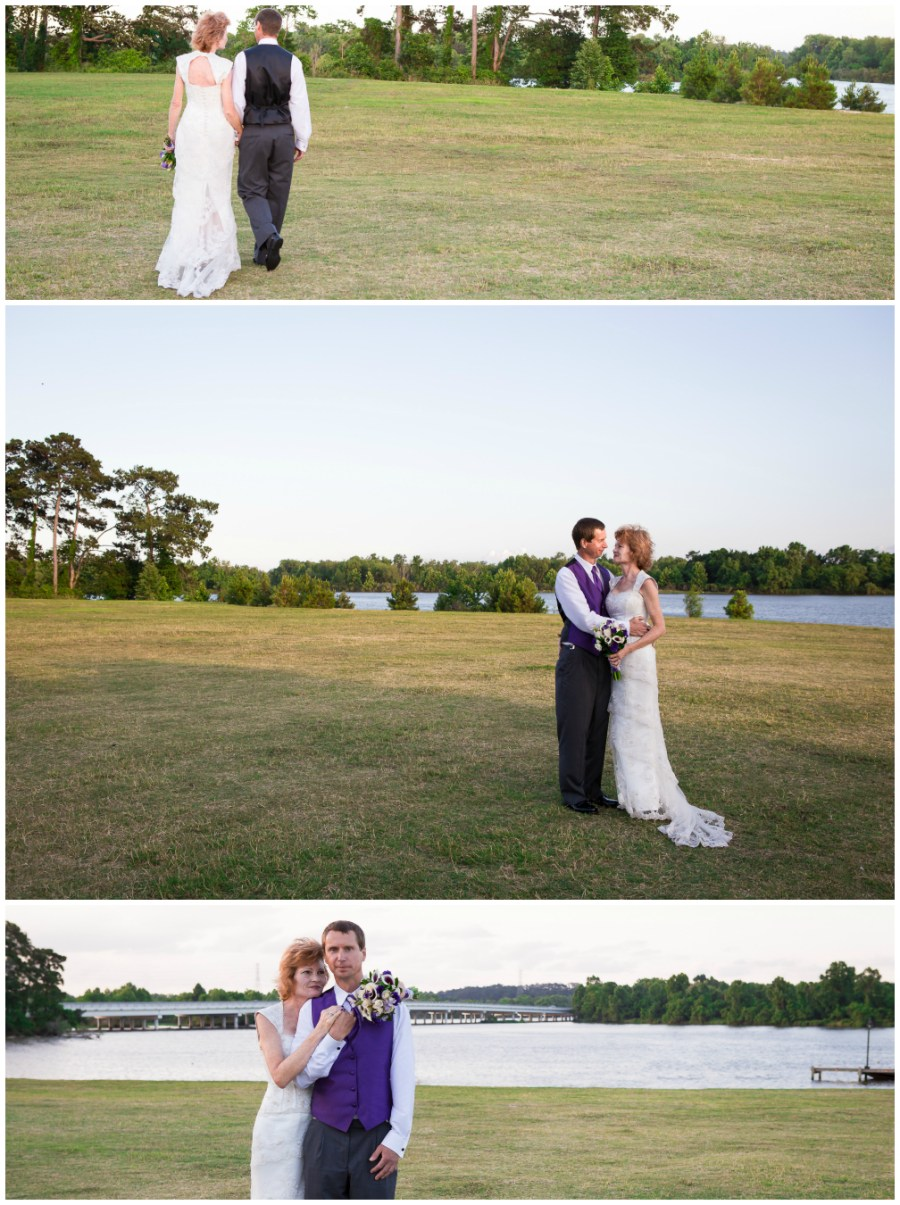 Bride and Groom Kingwood Texas Wedding