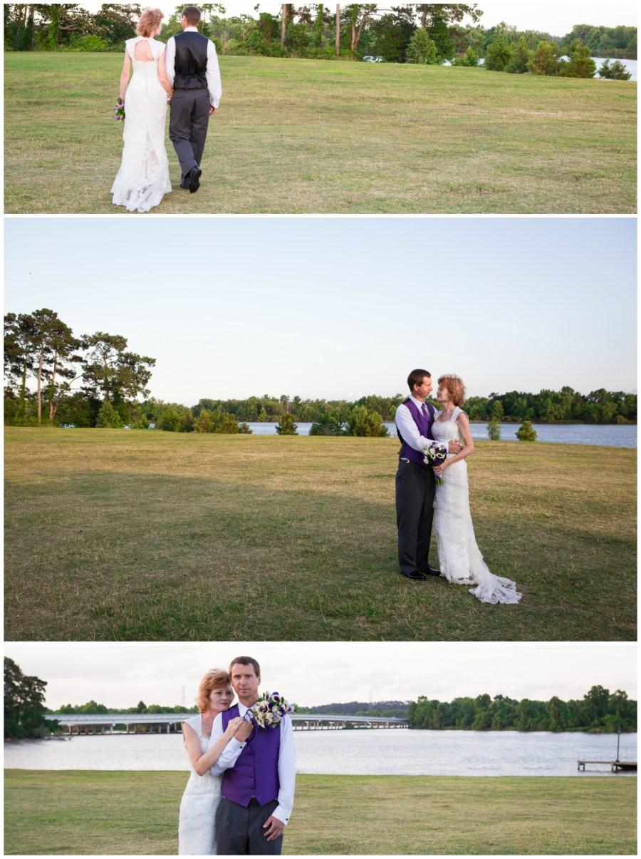 Bride and Groom Kingwood Texas Wedding