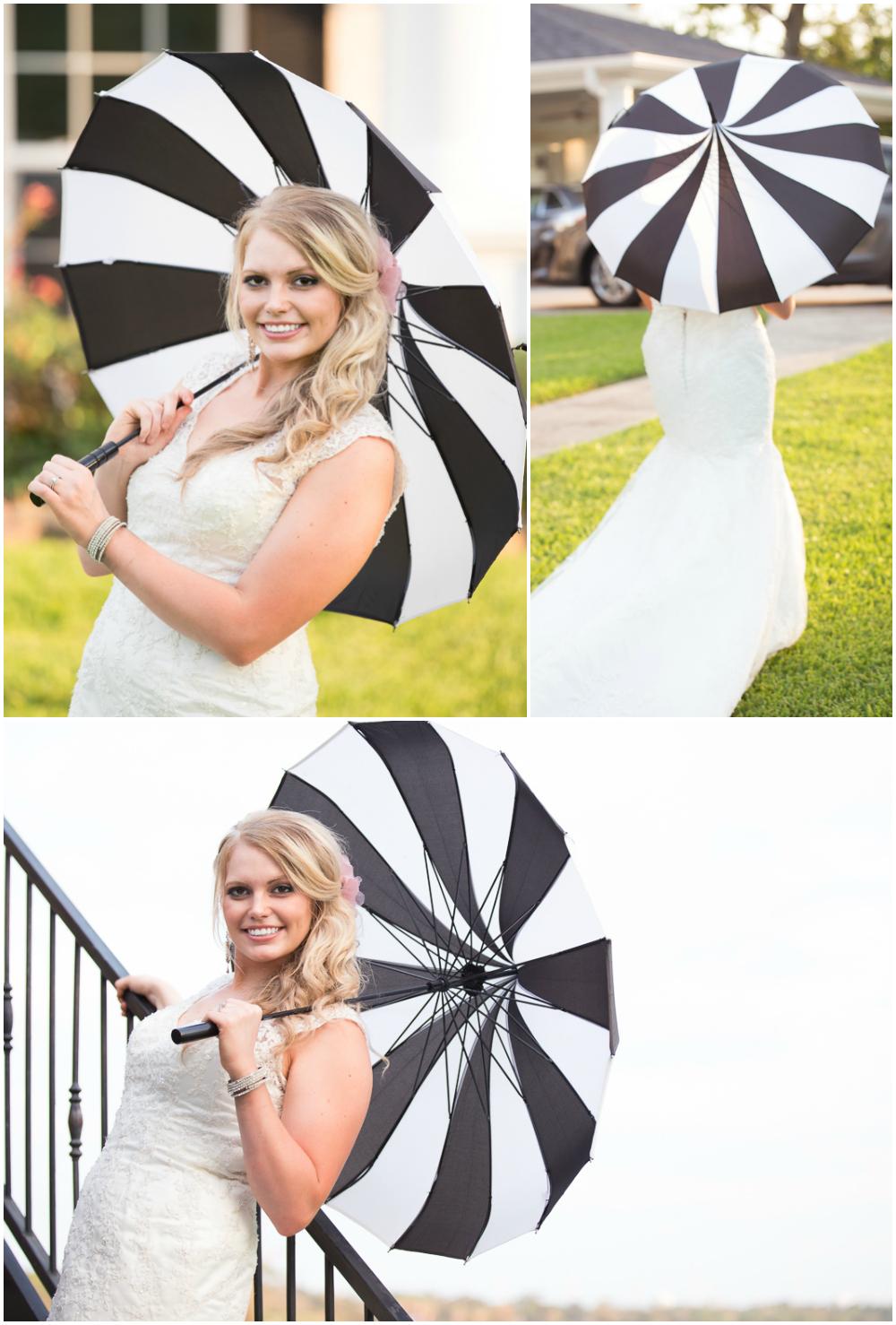 Atascocita Photography Bridal Umbrella