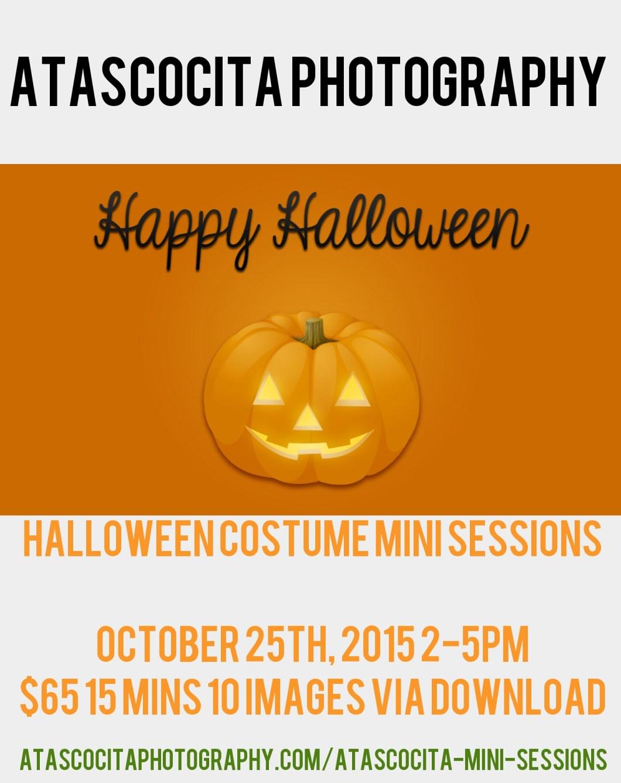 Fall Halloween Costume Mini Sessions