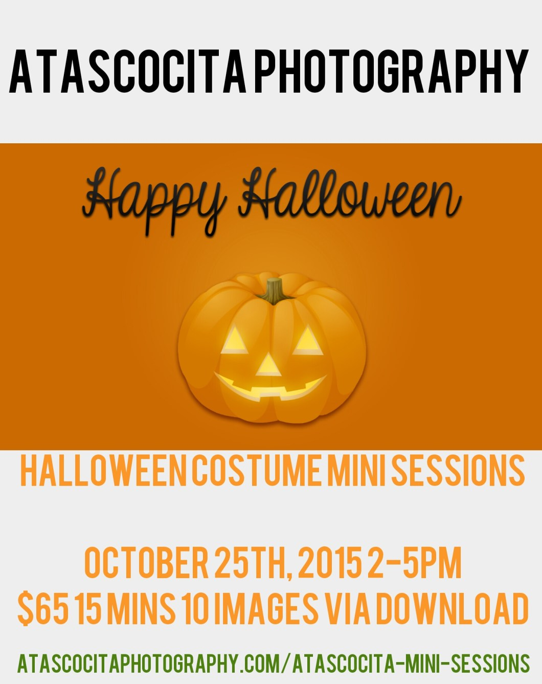 Fall Halloween Costume Mini Sessions
