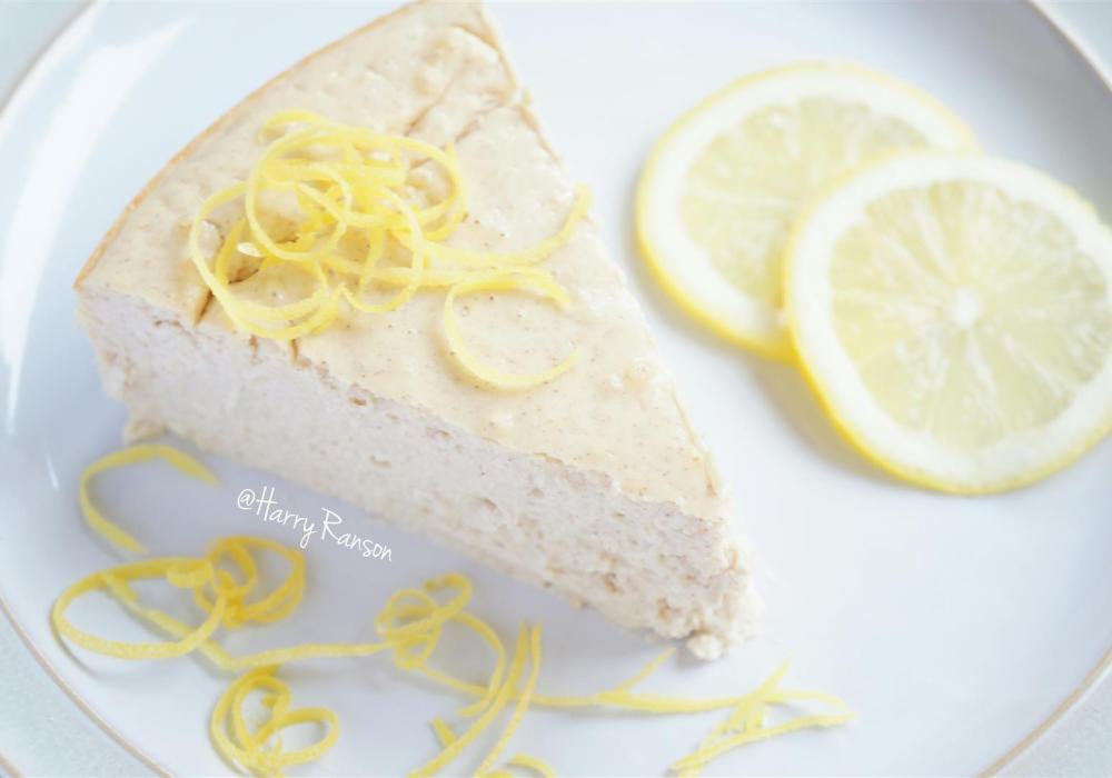 Lemon Protein Cheesecake