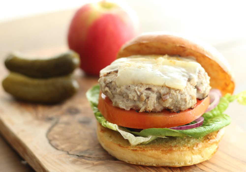 Pork, Sage and Apple Burgers