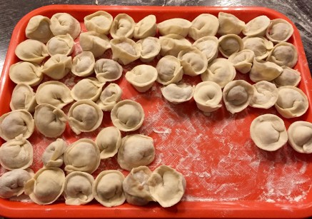 ...turn into dumpling circles