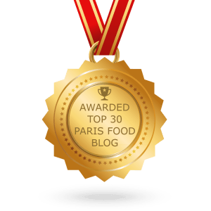 Voted Top 30 Paris Food Blog