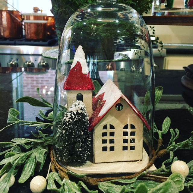 Winter Cottage Christmas Decoration