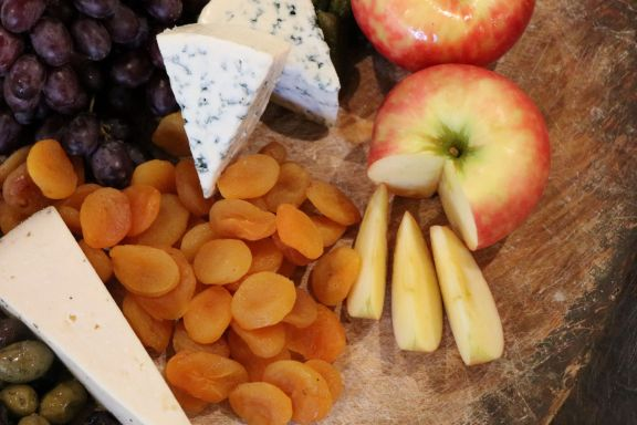 Hancrafted Cheese board 7-R