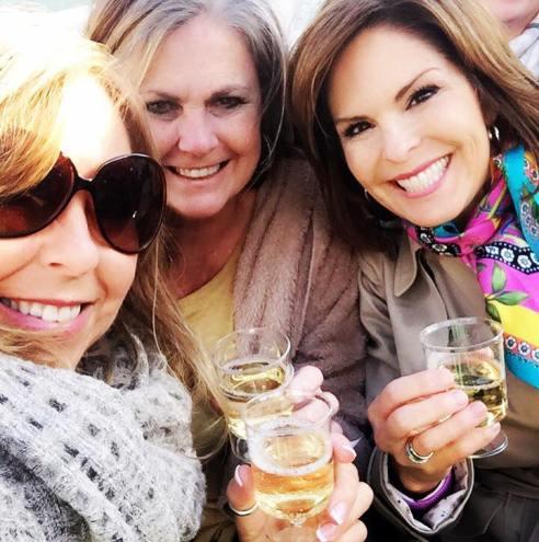 Wine on boat