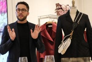 Dior boutique.