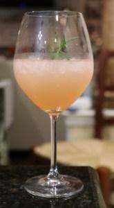 Rosemary Grapefruit Sparkler.