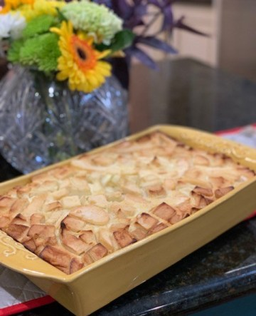 Tartouillat made with apples and pears