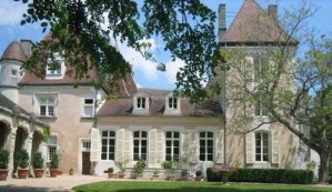 Chateau in the Dordogne region of France.