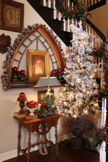 Foyer decoration for Christmas