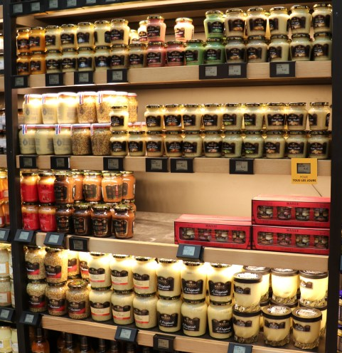 mustard assortment in Paris