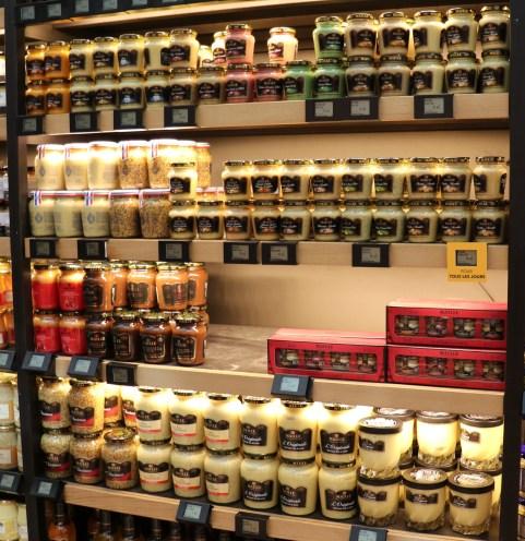 mustard assortment in Paris