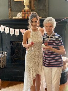 Brooke with her Grandmother