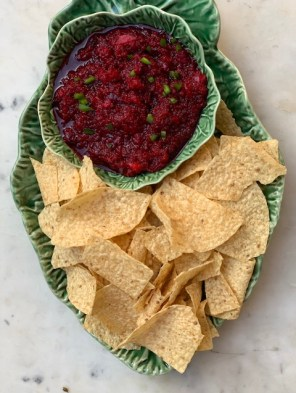 Easy to prepare Cran-Salsa Appetizer Recipe