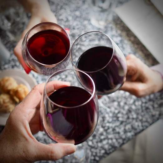 You're Invited for Wine & Food toasting