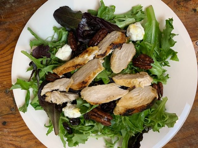 Goat Cheese and Pecan Salad Recipe