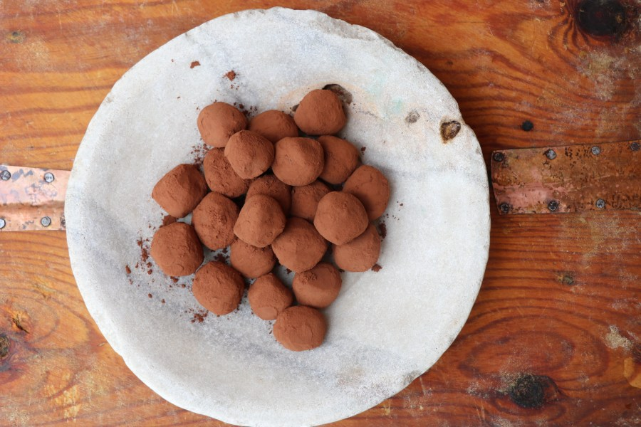 Cointreau Dark Chocolate Truffle Recipe