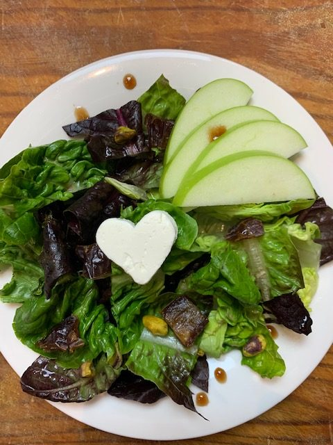 Heart Salad with Fig Vinaigrette Recipe