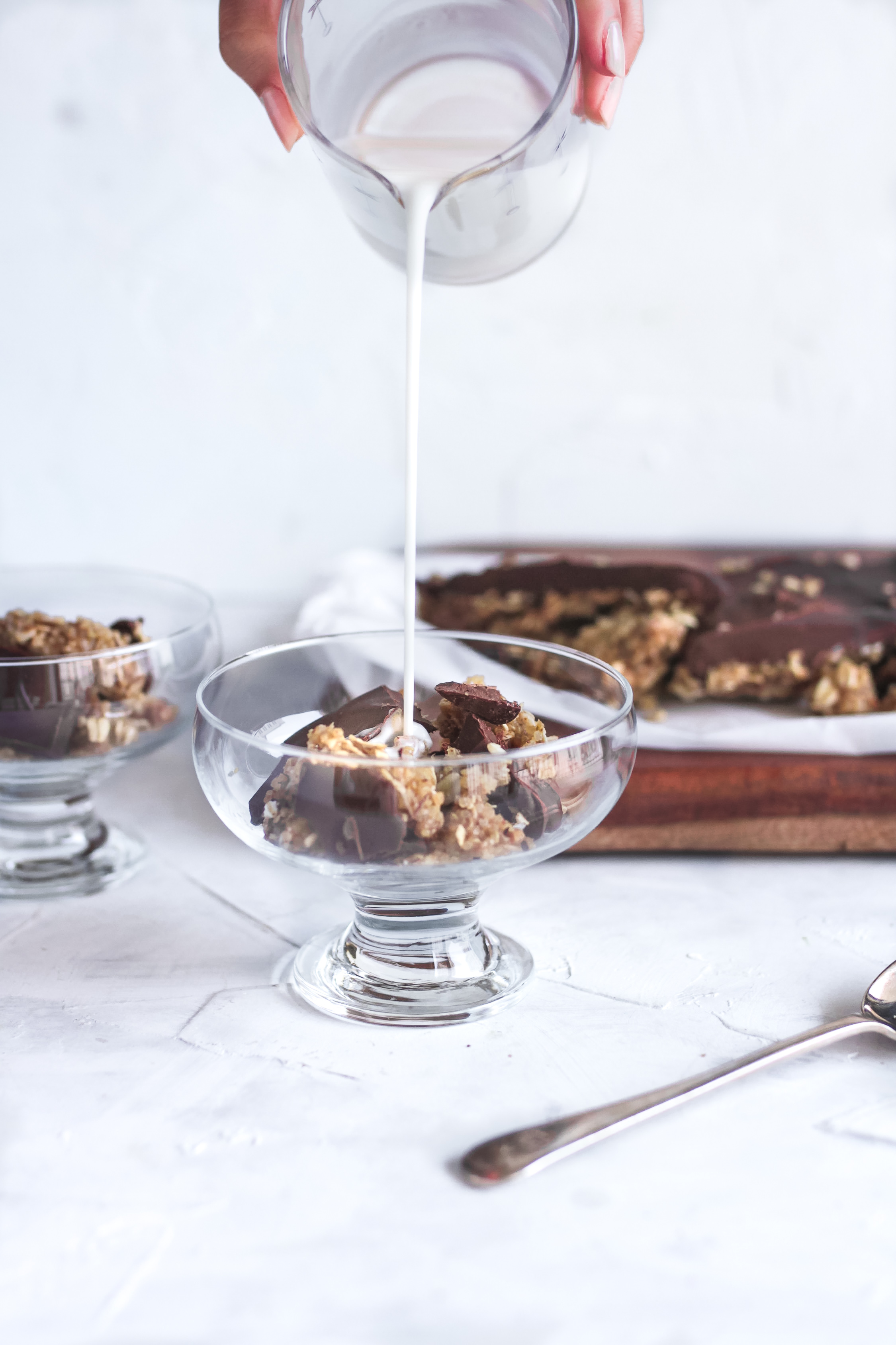 Honey Quinoa Oat Chocolate Cereal